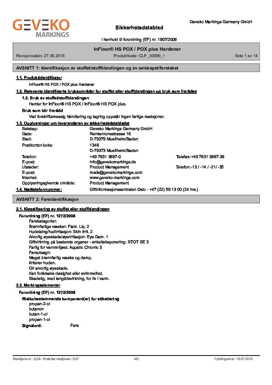 InFloor® HS POX   POX plus Hardener_N-no